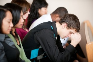 Youth at prayer