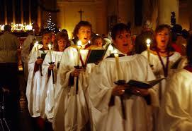 a robed choir